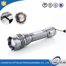 Long Quality Warranty high light range aluminium high power green led flashlight