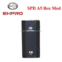 The lattest ehpro mini box mod 50W ehpro SPD A5 e cigarette 50w in hot selling
