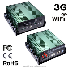 Factory direct 4 CH HDD mobile DVR with gps 3g wifi