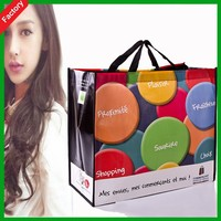 JNbags Wholesale eco friendly pp non woven promotional gift shopping tote bag with customized company printed logo