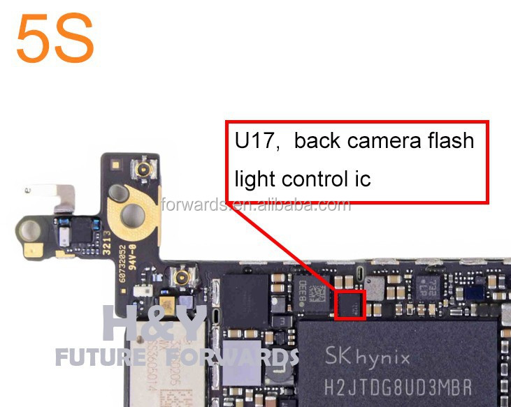 how to turn on flashlight on iphone 5s