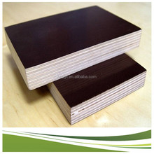 18mm waterproof hardwood core concrete formwork film faced plywood