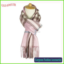 Classical Design Noble Wool Cashmere Scarf