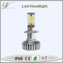 12V 50W 2600lm h7 led car headlight kit, led car headlight, projector beam headlight low beam