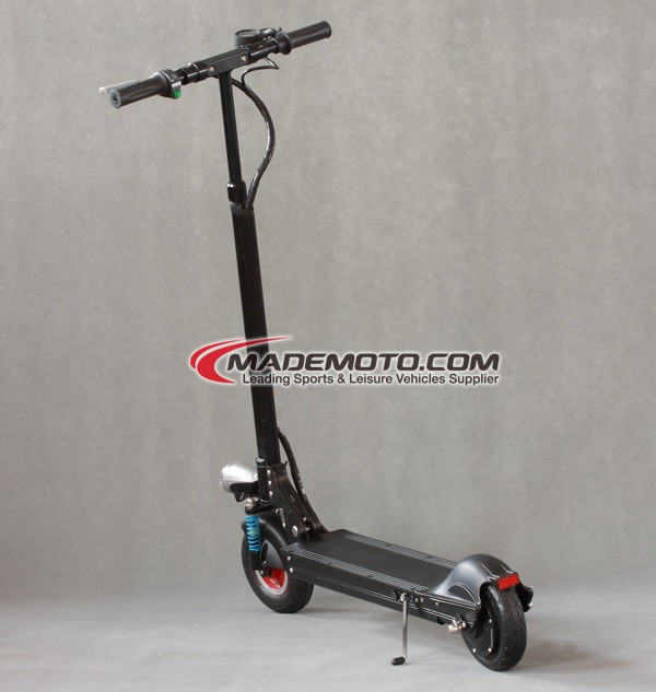 Folding 350w hub brushless motor electric scooter stand up for Stand on scooters with motor