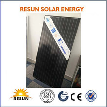 2015 hot black solar panel all black solar panel
