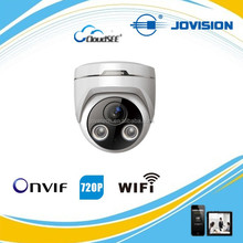 1.3MP dome CCTV IP Camera with special pcb, OV sensor, intelligent function(trip line, defence area,etc)