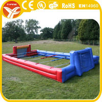 2015 inflatable football pitch for sports competition