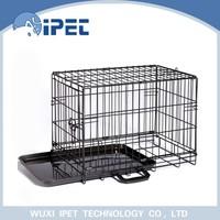 Ipet China medium folding bottom display iron mesh pet cage