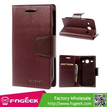 Mercury Goospery Sonata Diary Wallet Leather Case w/ Stand for Samsung Galaxy Core I8260 I8262