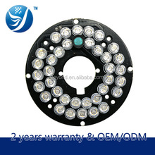 36Ir Lens lamp panel Security Surveillance Cctv Camera Had Ir Cut 4mm Lens High Resolution Outdoor Weatherproof
