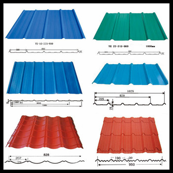 a new and hot product called corrugated metal sheet for roofing