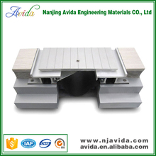 Outdoor ceramic tile expansion joint cover for building materials
