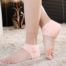 ZRWC21B comforable to prevent hell crack set silicone heel protection socks heel pain relief spur soft