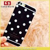 Gel 0.33 MM Dot Cover Point Colorful Skin Phone Case for iphone6 Soft Silicone TPU Ultra Thin Polka Dot Wave Case For iphone6 6+