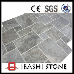 Best selling french pattern travertine pavers