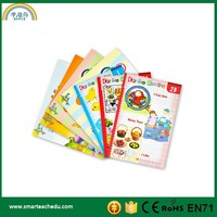 Kindergartens Audio English Learning Story Books, Sound Books