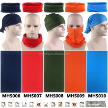 Plain Seamless Neck Tube Bandana Scarf