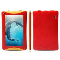 New Product for 2015 RAM 1GB ROM 8GB dual camera android 4.4 RK3126 Quad Core wifi Bluetooth kids 7 inch tablet case