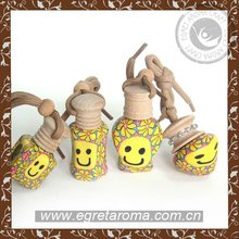 China supplier factory popular wholesale eco-friendly for smiley face car hanging air freshener