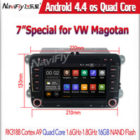 Factory price +Android 4.4 Quad Core HD 1024*600 Car DVD GPS Navigation For VW GOLF 5 Golf 6 POLO PASSAT CC JETTA TIGUAN
