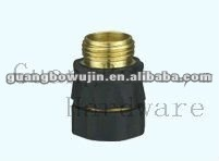 rubber coated brass hose adapter