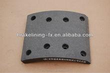 Brake shoe 19486 BFMC:MP/31/1,FREE SAMPLE/high cost performance FF grade brake lining/Accept the customer-designated brands