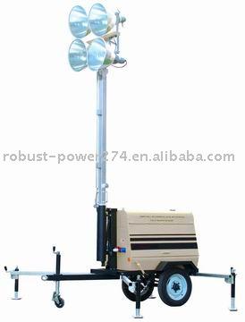 Rplt6000_mobile torre de iluminação