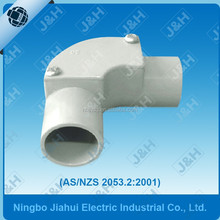 fire-resistance and corrossion resistance upvc australian standard AS/NZS2053 inspection elbow, AUS electrical PVC pipe fittings