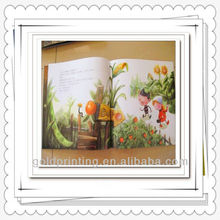 Rich Experience in Printing Service of Kid's Story Books with Full Color Pages