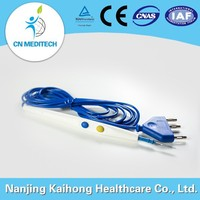 Hand switch disposable electrosurgical esu pencil