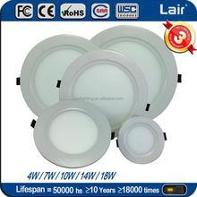 Free Trad Merchandise 3W to 24W round square led panel light price