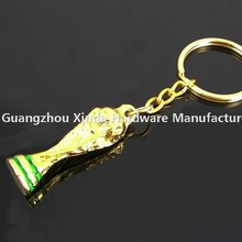 Gold world cup souvenir gift /High Performance World cup key chain