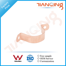 T810 Factory price pipe fitting copper saddle clamp