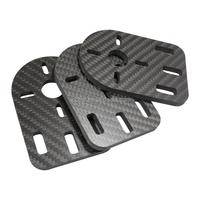 100% Carbon Fiber Material 3K Carbon Fiber Sheet CNC Cutting parts