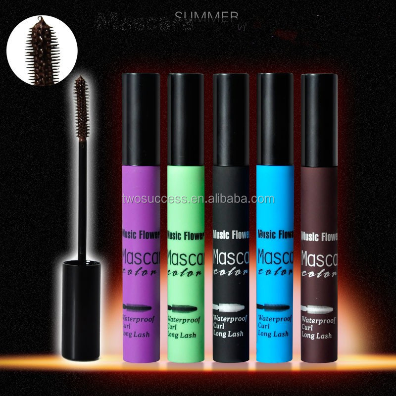 5 colors Makeup Water proof Leopard Mascara