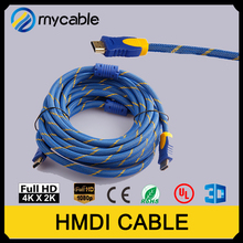 Mycable newest model hdmi cable 1 4 support 3D internet wholesale