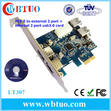 High speed 5Gbps pci-e 4 serial ports card