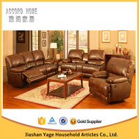 top selling Living Room Leather lazy boy sectional recliner sofa by china