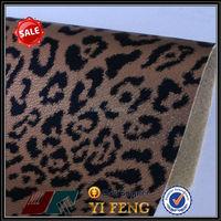 2015 premium imitation leather with imitation animal skin