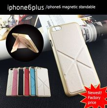 pu leather cell phone case for iphone6 plus