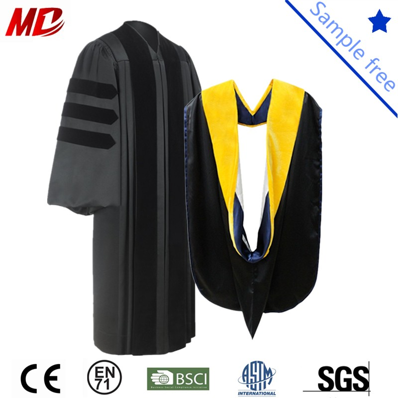 doctoral gown hood_