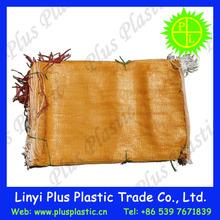 2014 New type tubular PE net bag packing potato and onion