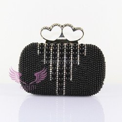 GZ QH-045 lady bags beaded evening clutch bags