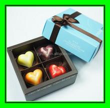 trade Credit insurance high quality new design custom luxury rigid printing packaging cardboard folding paper chocolate box