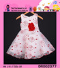 Cute Red Baby Girls Knitted Dress Summer Collection Baby Girls Knitted Dress