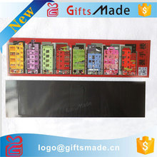 Wholesale customized cheap colorful fridge magnet/refrigerator magnet,long thin magnet