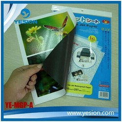 Yesion a4 type magnet for refridgerator matte magnetic photo paper