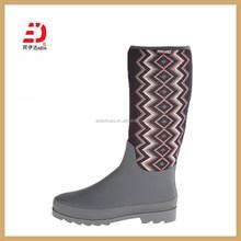 L01 Ladies Neoprene Rubber Rain Wellington Boots in Rain Boots