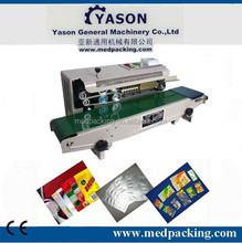 Stainless Steel Band Sealer FR-900 plastic film continuous sealing machine